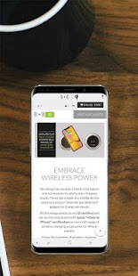 Aircharge Qi Wireless Charging Screenshot