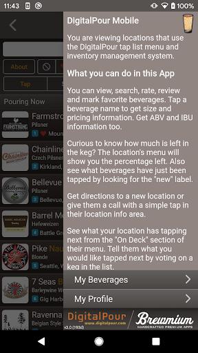 DigitalPour: Pocket Beer Menu 3.2 Screenshots 5