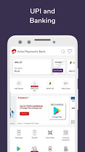 Airtel Thanks - Recharge, Bill Pay, Bank, Live TV Screenshot