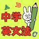 実戦!中学英文法330 - Androidアプリ