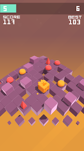 Splashy Cube: Color Run Screenshot