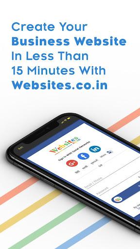Instant Website Builder With Store: Websites.co.in 2.42 in.co.websites.websitesapp apkmod.id 1