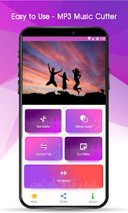 MP3 Music Cutter and Ringtone Maker 2.3 Unlocked MOD APK Android 1