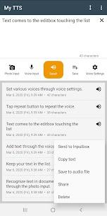 My TTS: Text-to-Speech MOD APK (Premium Unlocked) Download 6
