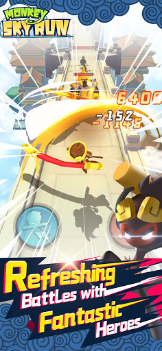 Sky Monkey Run screenshots 2