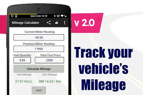 Mileage Calculator 4
