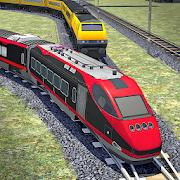 Train Racing Euro Simulator 3D: Train Games