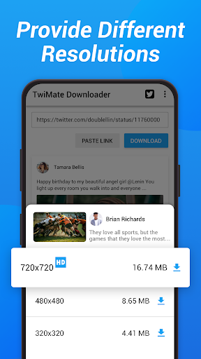 Download Twitter Videos - Save Twitter & GIF screenshots 3