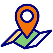 Gps Coordinates finder - save & share location