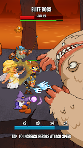 Semi Heroes 2: Endless Battle RPG Offline Game 1.2.2 Apk + Mod 2