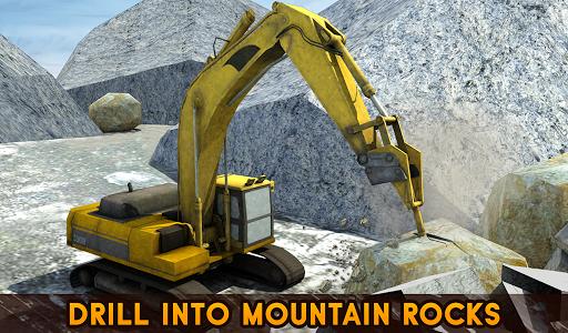 Hill Excavator Mining Truck Construction Simulator screenshots 12