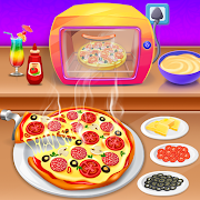 Pizza Cooking Kitchen Game