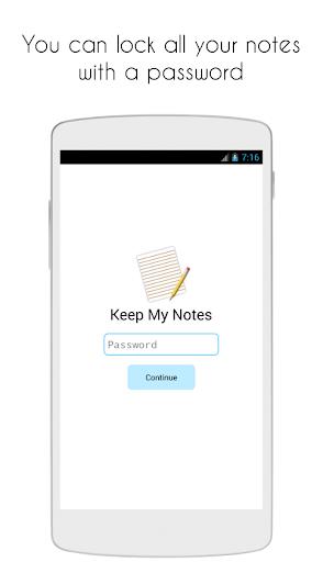 Keep My Notes - Notepad, Memo and Checklist modavailable screenshots 4