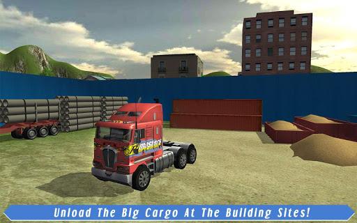 Cargo Truck Driver: American Transport  screenshots 10