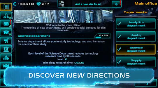 Business Clicker: Sci-Fi Magnate and Capitalist Mod Apk (Unlimited Money) 6