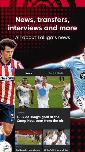 La Liga Official App - Live Soccer Scores & Stats 7.4.8 Screenshots 3
