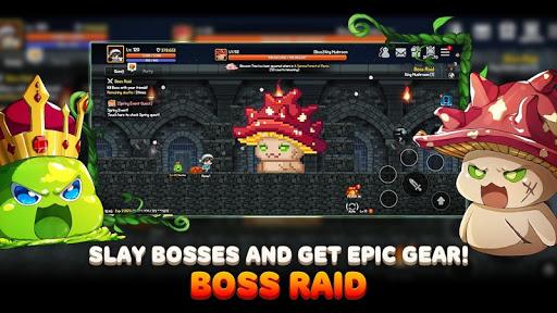 Roem - Pixel Dungeon Raid screenshots 10