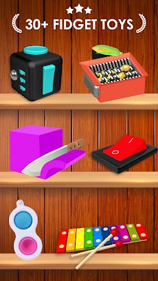 Fidget Toys 3D - Fidget Cube, AntiStress & Calmのおすすめ画像1