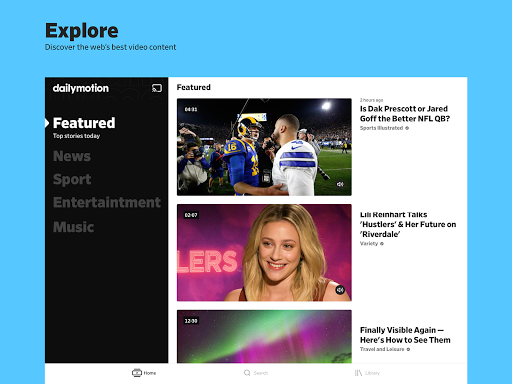 Dailymotion - the home for videos that matter  Screenshots 5