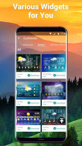 Real-time weather forecasts 16.6.0.6325_50165 Screenshots 6