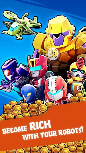 Merge Robots - Click & Idle Tycoon Games 1.6.5 screenshots 14