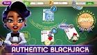 screenshot of myVEGAS Blackjack 21 - Free Vegas Casino Card Game