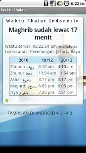 Waktu Shalat Screenshot
