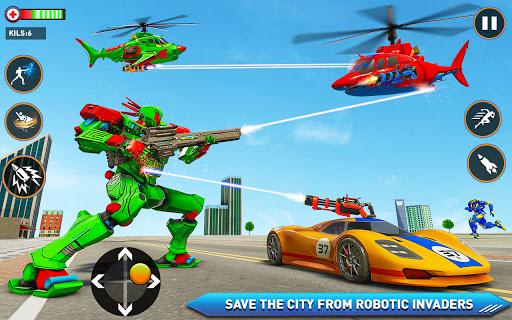 Monster Truck Robot Shark Attack u2013 Car Robot Game 2.1 screenshots 4