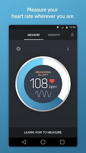 Instant Heart Rate+ screenshot 1