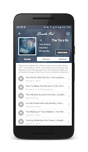 DoublePod Podcasts for android Screenshot