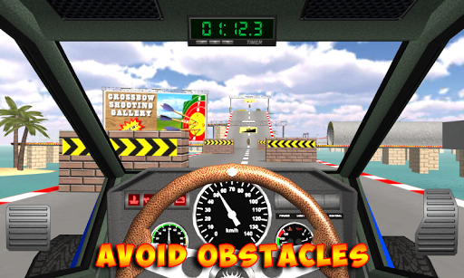 Racing stunts by car. Extreme driving apkpoly screenshots 10