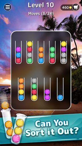 Ballscapes: Ball Sort Puzzle & Color Sorting Games  screenshots 4