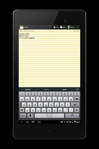 NOTES 1.27 Screenshots 18