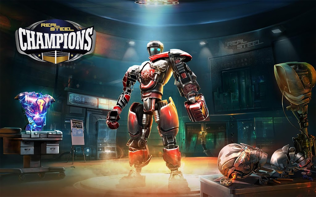 Real Steel Boxing Champions MOD poster 8