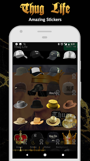 Thug Life Stickers: Pics Editor, Photo Maker, Meme android2mod screenshots 2