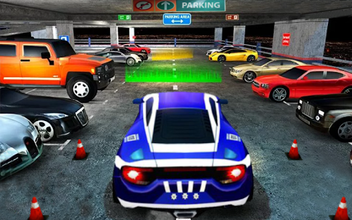 Luxury Car Parking Mania: Car Games 2020 apkslow screenshots 7