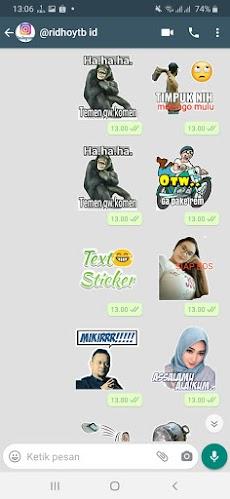 Kumpulan Stiker WA Kocak WAStickerAppsのおすすめ画像5