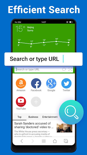 Web Browser - Fast, Private & News 1.6.3 Screenshots 2