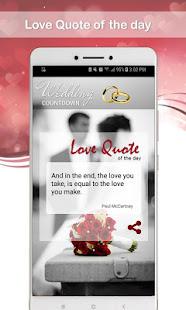 Wedding Countdown App 2021 / 2022