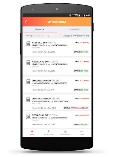 IRCTC Rail Connect 4.0.4 Screenshots 8