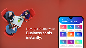 Digital Business Card-Design & Organize in Minutes