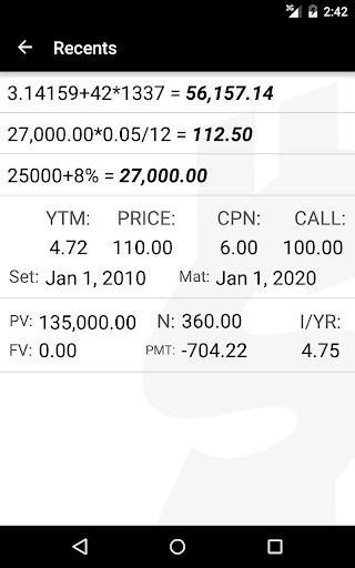 10bii Financial Calculator  screenshots 13