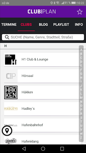 Clubplan  Screenshot 2