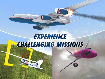Download Take Off The Flight Simulator (MOD, Money/Fuel/Fast Level Up) 10