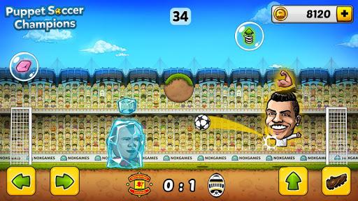 u26bd Puppet Soccer Champions u2013 League u2764ufe0fud83cudfc6 3.0.4 screenshots 2