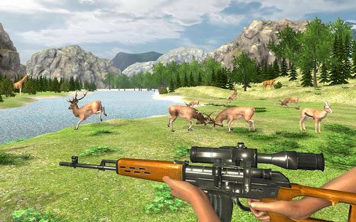 Real Jungle Animals Hunting - Free shooting game android2mod screenshots 9