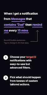 BuzzKill – Notification Superpowers v8.5.5 MOD APK 2