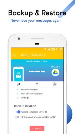 Mood Messenger - SMS & MMS android2mod screenshots 8