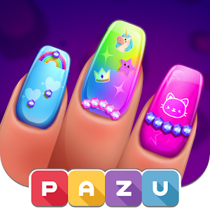 Girls Nail Salon  Manicure games for kids