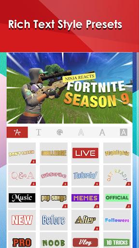 Thumbnail Maker & Channel Art Maker  Paidproapk.com 5